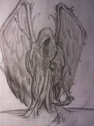 winged grim reaper drawing photo 2 photo pictures and
