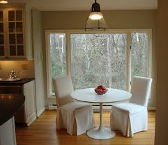 dining room oval dining table with black leather parsons chairs exciting white round dining table with white parsons chairs on cozy wood tile flooring