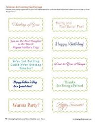 greeting cards words card invitation design ideas creating together journal easy