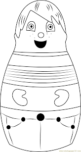eubie coloring page free higglytown heroes coloring pages