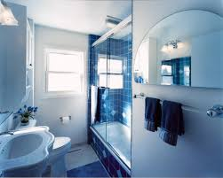 great bathroom design ideas with blue navy colors dark blue