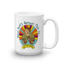 saturday live stefon new york s club white mug