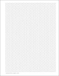 printable isometric paper a4 isometric graph paper pdf template business