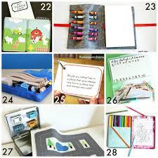 30 diy portable travel kits for entertaining kids on go
