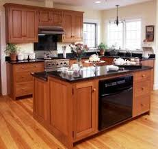 Kitchens With Light Wood Cabinets And Black Countertops  Of - Light cherry kitchen cabinets