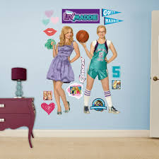 disney liv and maddie peel and stick wall decal products