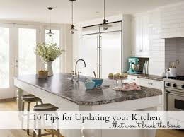 updating kitchen tips for updating your kitchen on a smaller budget the idea room