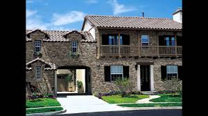 Stucco Homes Pictures Great Rock And Brick Stucco Exterior Designs For Home Outdoor