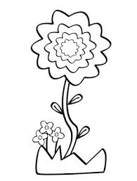 flores colorear manualidades euroresidentes