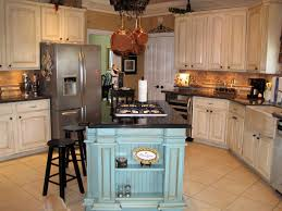 french country kitchen decor ideas wooden rectangular kitchen