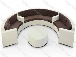 Curved Sofa Set Furnitures Circular Sofa Unique Rattan Sofa Set Images