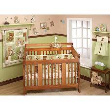 Nursery In A Bag Crib Bedding Set Bedding By Nojo Dreamland Teddy 10pc Nursery In A Bag