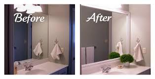 how to frame a bathroom mirror with molding framing bathroom mirrors with crown molding google search diy