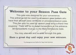 How Much Is A Six Flags Ticket At The Gate Season Pass Entrance At Six Flags Great Adventure