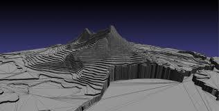Usgs Earthquake Map California Earthquake Man 3d Prints Usgs Earthquake Data For Last Month U0027s