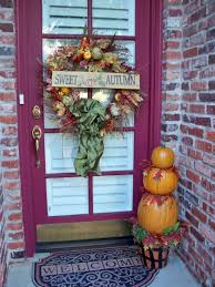 Decorating With Fall Leaves - front porch decorating ideas for fall ultimate home ideas