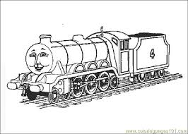 coloring pages thomasthetrain transport land free bebo pandco