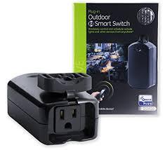 ge outdoor lighting control ge z wave plus smart lighting appliance control outdoor module on