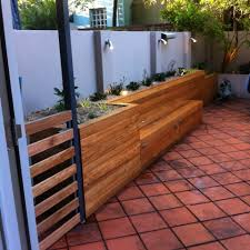 Bedroom Bench Seat With Storage Softwood Decking For The Garden With A Full Depth Raised Flower