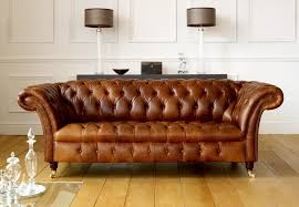 at home chesterfield sofa collection in brown leather chesterfield sofa living room leather