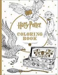 harry potter magical artifacts coloring book scholastic