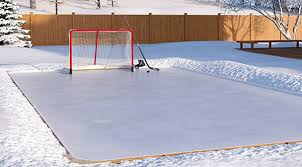 Backyard Rink Liner by Backyard Ice Rink Ideas For Diy Enthusiast