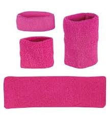 pink headbands pink headbands pink wristbands and pink armbands by profeet