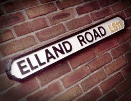 cast iron street ls elland road faux cast iron old fashioned leeds street sign