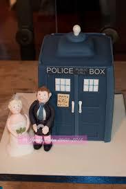 tardis cake topper and groom wedding cakes
