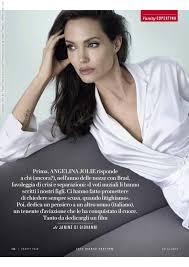 Vanity Fair Italiano Angelina Jolie For Vanity Fair Italia 30th December 2014 By