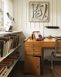 Studio Work Desk by Home Tour 1930s Modernist Treasure Martha Stewart