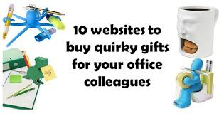 10 websites to buy gifts for your office colleagues