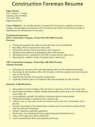 resume construction experience sample resume construction resume sample construction