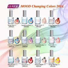 new mood colors 2014 lechat perfect match changing gel polish