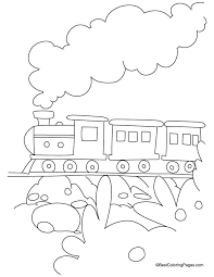 train coloring page 3 free train coloring page 3 for