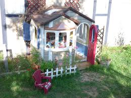 paint plastic playhouse cheep chickadee