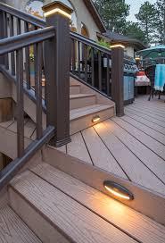 Patio Deck Lighting Ideas by Best 25 Deck Post Lights Ideas On Pinterest Deck Posts