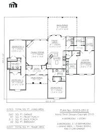 house plans with 4 bedrooms 4 bedroom rectangular house plans rectangular house plans 3