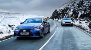 lexus v8 gs chris harris drives lexus gs f vs bmw m5 top gear