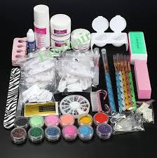 professional nail art kit sets manicure set nail care system