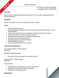 free student resume templates resume for nursing student free resume templates for nursing