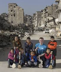 unicef siege joe canning travels to aleppo it s a bit surreal i feel i need