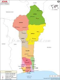 Map Of West Africa by Carte De Benin Map Of Benin Mapsinfrench Carte Du Monde