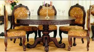 Indian Dining Chairs Indian Dining Table Traditional Indian Dining Table Sets Fiin