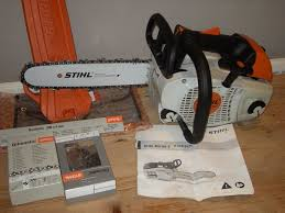stihl ms201tc m tronic top handled chainsaw new in tingley