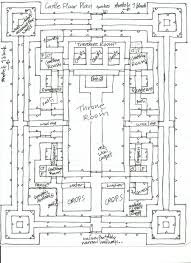 baby nursery castle blueprints castle floor plans plan medieval