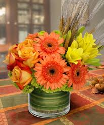 trendy autumn fresh bouquet a classy modern design tulsa flower