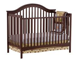Convertible Cribs With Attached Changing Table by Stork Craft 04550 449 Ravena Fixed Side Convertible Crib Espresso
