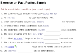 past simple vs present perfect printable games