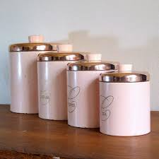 pink kitchen canisters pretty kitchen canister sets made by ceramic extravagant and